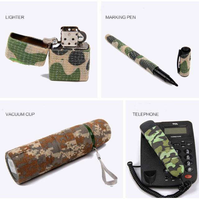 5cmx4.5m Army Camo Camouflage Waterproof