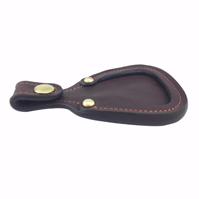 Brown Leather Toe Protector