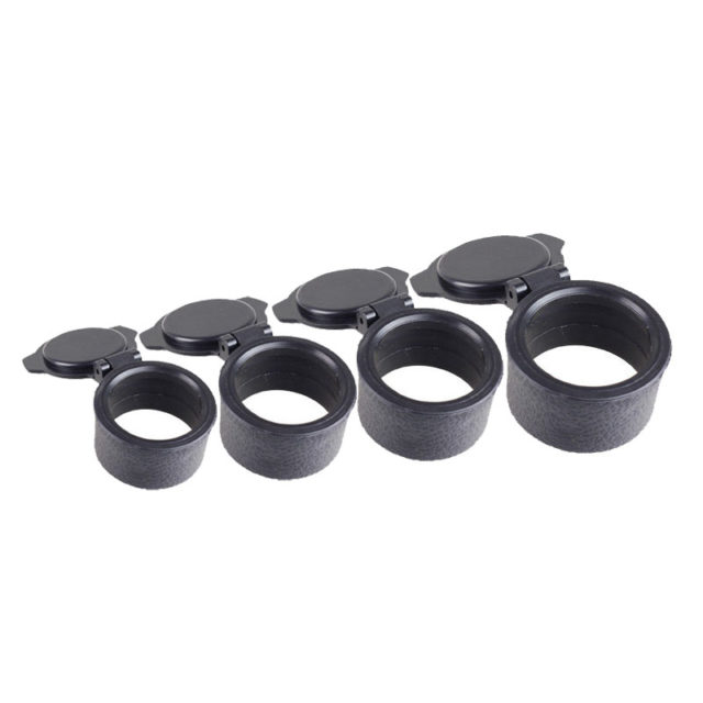 33-62mm Rifle Scope Quick Flip Spring Up Open Lens Cover