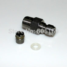 PCP airgun Tank regulator HPA/N2 One Way Fill Nipple Kit