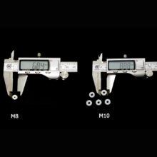 High Pressure PTFE M8/M10 O-Ring Air Seal Sealing for Mini Gauge