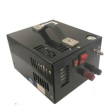 12V portable pcp air compressor with transformer(110v/220v)