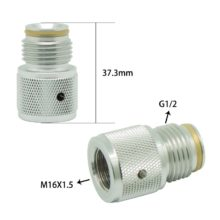 88G 90G Cartridge Cylinder to Paintball Tank Thread Adapter