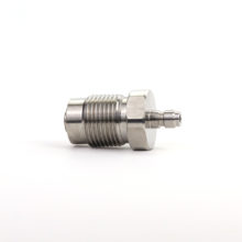 PCP HP Fill Station Stainless Steel 300Bar Din Valve with 8MM Quick Disconnect Male Plug