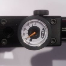 FX Impact Black Pressure/Regulator Gauge Covers Protectors Trim